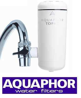 Aquaphor Topaz In-Line Tap Faucet Water Filter Purifier Replacement Cartridges