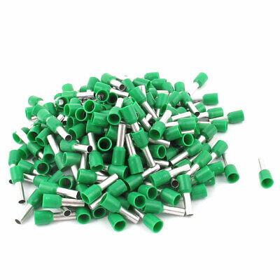 200pcs AWG12 Wire Copper Crimp Connector Insulated Ferrule Terminal Green