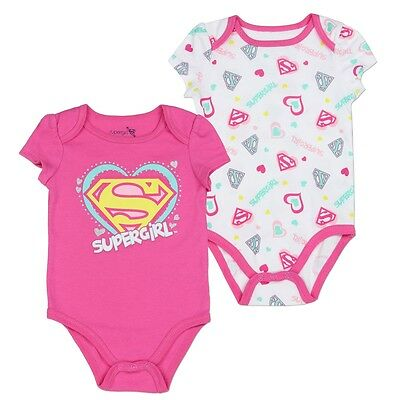 *REDUCED* Supergirl Bodysuits - 2 Pack - BNWT