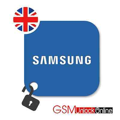 Unlock Code For UK O2 Tesco Samsung Galaxy S4 S5 S6 S6 S7 S8 Edge + Plus Note 4