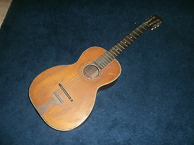 Vintage Late 1800's/Early 1900's Parlor Guitar Project! Brazillian Rosewood!
