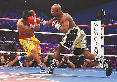 Floyd Mayweather v Manny Pacquiao Superfight Action #2 Poster