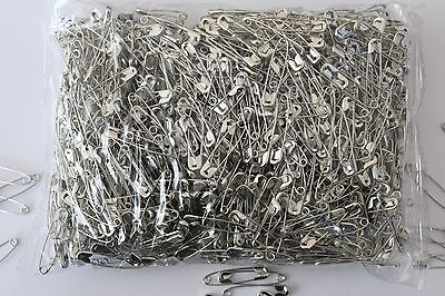 20,100, 250, 500, 1000, 5000. Approx size 28mm Safety Pins.Running,Cycling,Sport