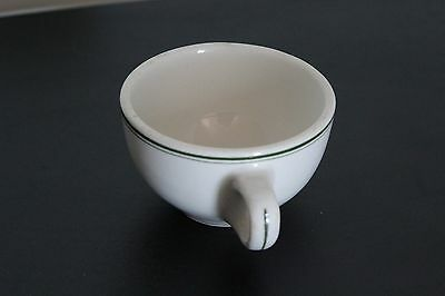 Vintage China Restaurant Ware Cup Green Stripes