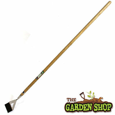 Garden Hoe. Stainless Steel Garden Hoe. Dutch Hoe in Ash Handle