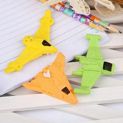 Cool Aircraft Plane Airplane Space Shuttle Pencil Eraser Stationary Kid Toy Gift