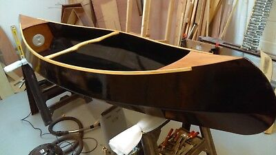 The PEASEMARSH 10 Canadian Style Open Canoe - Plywood Only Kit