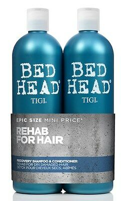 TIGI Bed Head Urban Antidotes Recovery Shampoo & Conditioner 750ml Tween