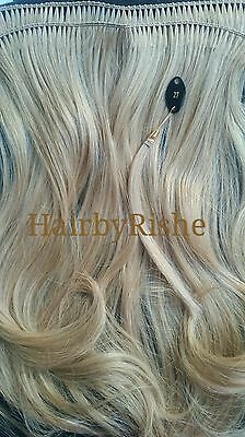 Hand wefting service for bulk hair/your own hair into extensions.