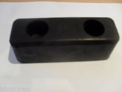 "Pair Of 6""x 2""x2"" Rubber Buffers,  Dropside, Horsebox, Trailer, Pickup,tipper"