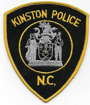KINGSTON NORTH CAROLINA POLICE PATCH NCPD PD NC *NEW*