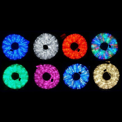 10m LED Rope Light 8 Colours Low Wattage Ultra Bright Memory Function Controller