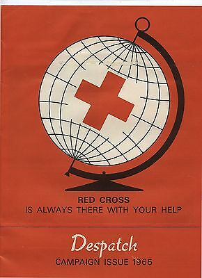Old 1965 Canadian Red Cross Despatch Campaign Issue Booklet