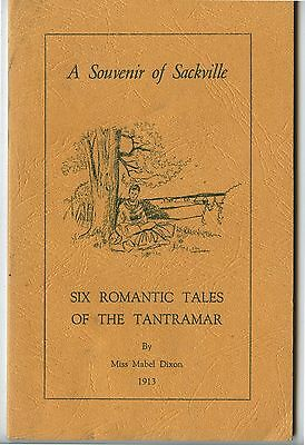 Old 1980 Booklet Souvenir of Sackville 6 Romantic Tales of the Tantramar