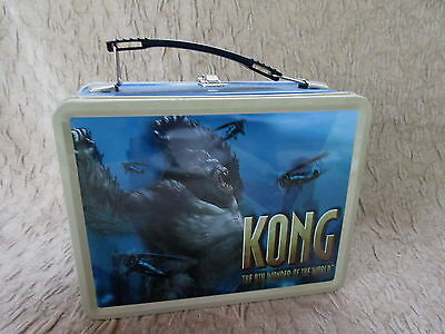 NECA King Kong 8th Wonder of the World Metal Lunchbox Lunch Box w/ Thermos