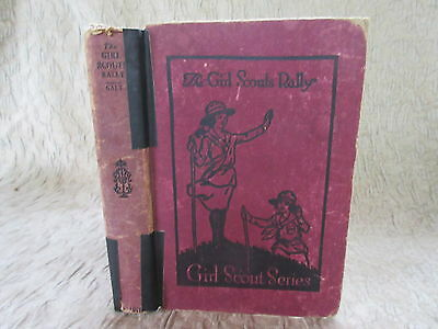 Old 1921 Book The Girl Scouts Rally by Katherine Keene Galt