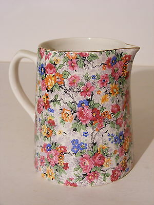 Old Lord Nelson Ware Marina Chintz Milk Pitcher