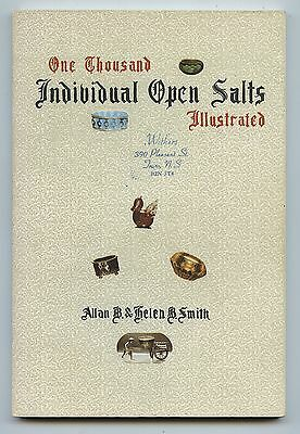 1972 Book One Thousand Individual Open Salts Illustrated