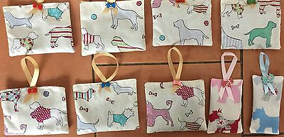 Westie or asst dogs  Hand Made Fabric Bag filled with French Dried Lavender