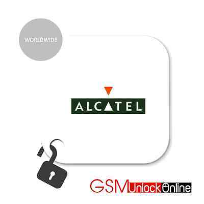 Unlock Code Service For Alcatel One Touch Pop D1 4018A 4018D 4018F 4018M 4018X
