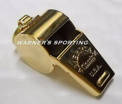 American Classic Gold-Plated Metal Pea Whistle