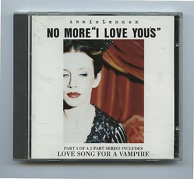 1995 Annie Lennox Promotional CD No More I Love You's