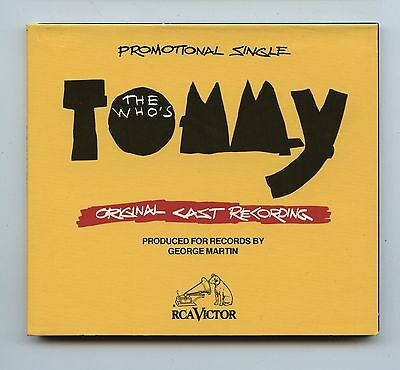 1993 The Who's Tommy Promotional CD Single Original Cast Recording