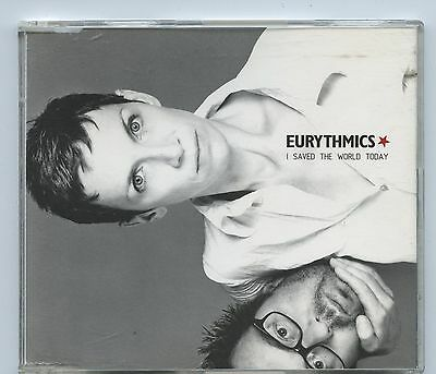 1999 Eurythmics I Saved The World Today Promotional CD