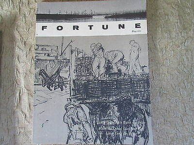 Old May 1963 Fortune Magazine Labor Unions