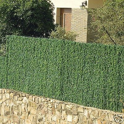 Greenwitch Artificial Conifer Hedge Plastic Privacy Screen Garden 1.5m high x 3m