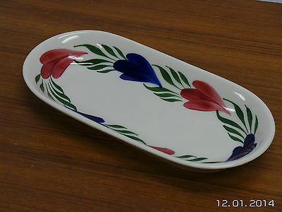 Syracuse China Restaurant Ware Flower Motif Oval Serving Platter