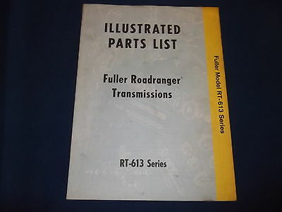 Eaton fuller transmission rt 1110 series parts list book 900 fuller eaton rt 613 series transmission parts book manual ccuart Choice Image