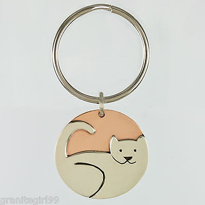 Kitty Cat Key Tag Animal Rescue Key Fob Far Fetched Mima Oly Gift Boxed