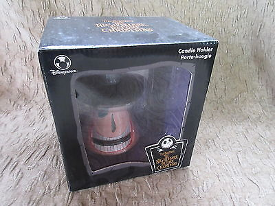 Disney Store Nightmare Before Christmas Mayor Candle Holder MIB