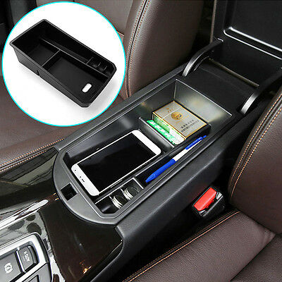 Fit For 11- Bmw X3 X4 F25 Armrest Center Console Storage Glove Box Container