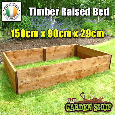Raised Bed. Timber Raised Bed. High Raised Vegetable Bed