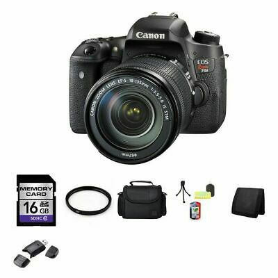 BRAND NEW Canon EOS Rebel T6sDSLR Camera w/18-135mm 0020C003 16GB Full Kit