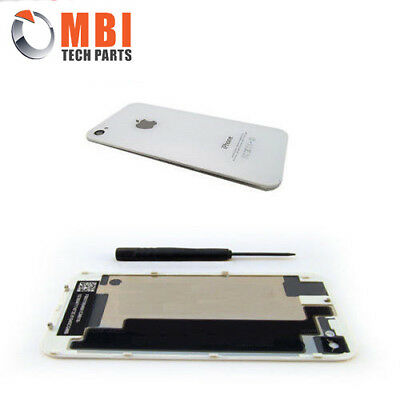 New Replacement Back Rear Glass Battery Cover for iPhone 4 4G A1332 White