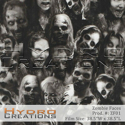 Hydrographic Film For Hydro Dipping Water Transfer Film Zombie Faces