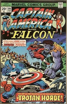 Captain America #194 - VF