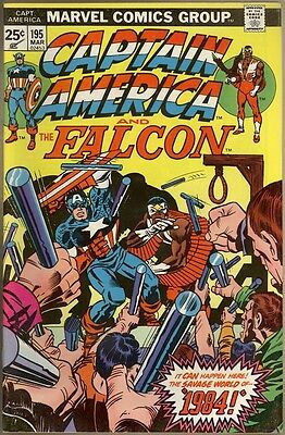 Captain America #195 - FN/VF