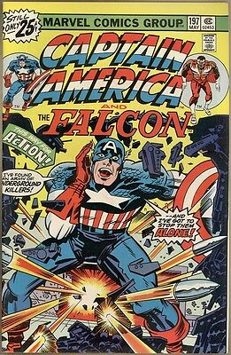 Captain America #197 - VF