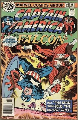Captain America #199 - VF-