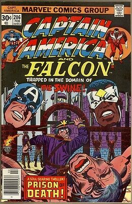 Captain America #206 - VF