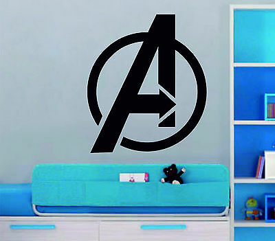 The Avengers Marvel Age of Ultron Deco Art  Vinyl Wall Sticker Bedroom