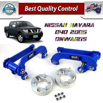 "Nissan Navara D40 4wd Lifts kit Spacer Shackle Suspension Lift Up 2"" inch 05-13"