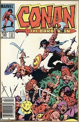 Conan The Barbarian #169 - FN/VF