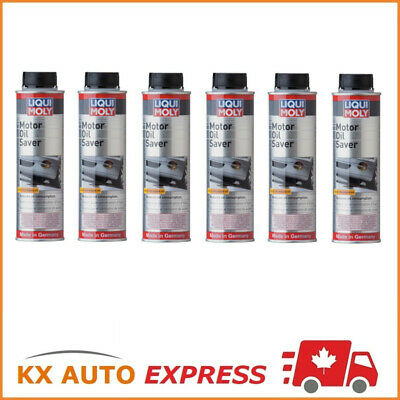 6X Liqui Moly Motor Oil Saver (Stops Oil Leakage & Blue Smoke) 300ml 2020