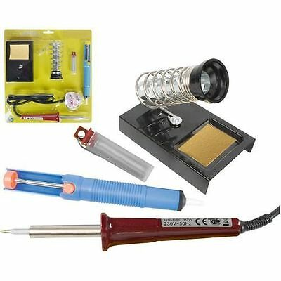 New 30/60W-240V Soldering Iron With Comfortable grip handle & Long Reach Tip