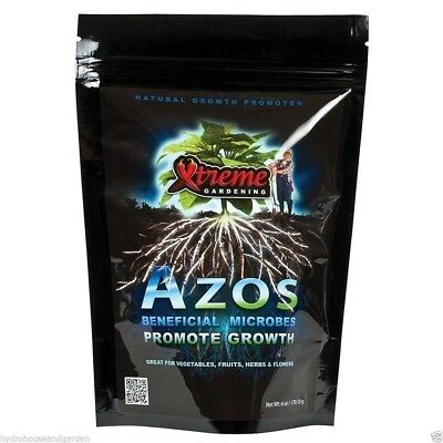 Xtreme Gardening Azos 12 oz ounce Nitrogen Microbes Promote Growth Beneficial